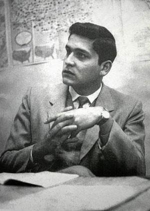 Javier Heraud en 1960, a los 18 años