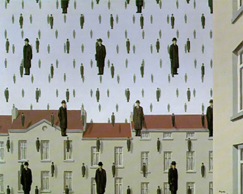 Rene Magritte: Golconde