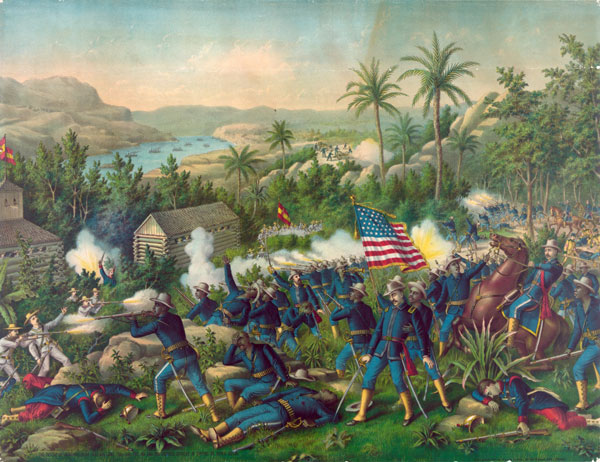 The Battle of Las Guasimas of June 24, 1898